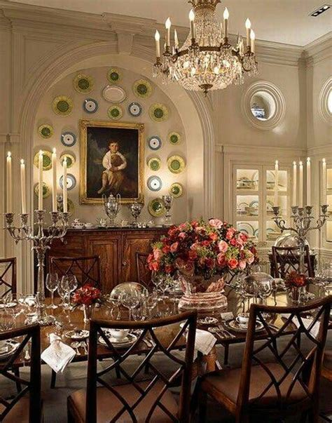 Living Room Restaurant Chester Formal Dining Rooms With Chandelier And Decorative Plates