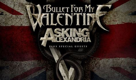 asking alexandria and bullet for my the warfield bullet for my