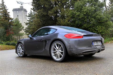 Porsche Cayman S Video by Essai Vid 233 O Porsche Cayman Et Cayman S Type 981