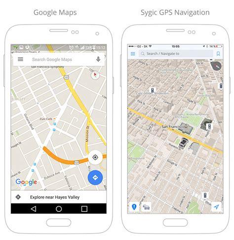 full google maps vs lite mode offline maps navigation why sygic beats google maps
