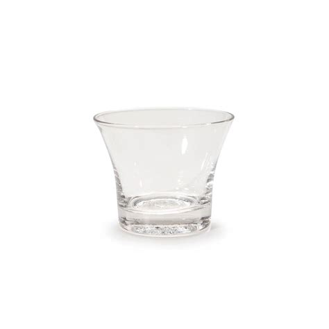 glass votive holders bulk pack clear oyster cup votives