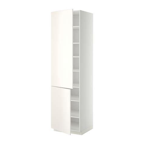 mehrzweckschrank 45 cm breit metod hoge kast met planken 2 deuren 60x60x220 cm