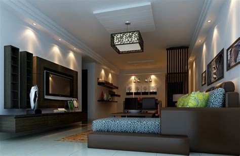chinese ceiling light in living room decoration
