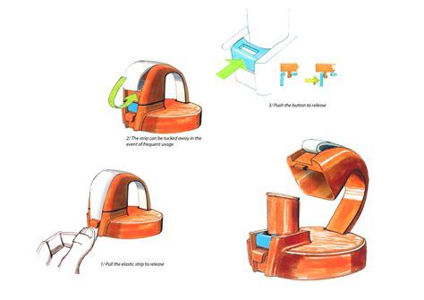 Alexandre Alton Portfolio : Redesign of the existing Nalgene OTF top cap