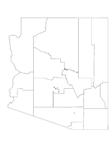 blank city map template arizona map template 8 free templates in pdf word excel