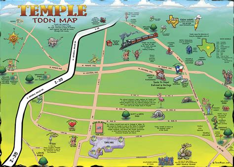 map temple texas temple texas map digital by kevin middleton