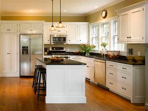 white l shaped kitchen with island kitchen cabinets l shaped afreakatheart