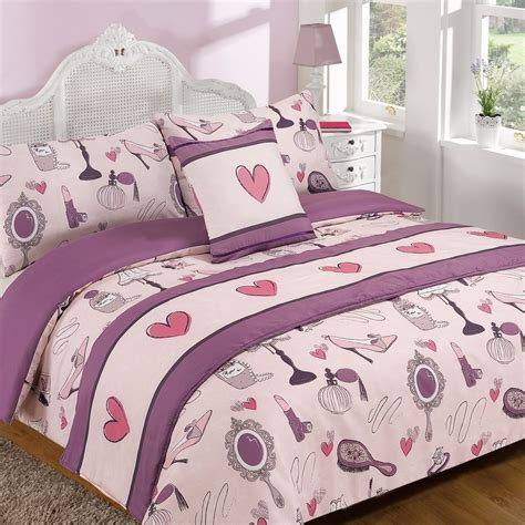 Size Of A Single Bed Quilt childrens bed in a bag quilt duvet cover bedding set in single sizes ebay