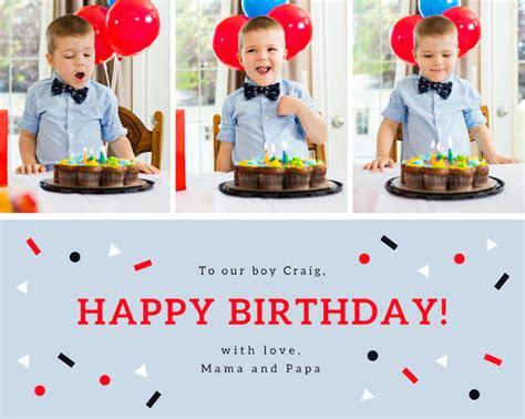 birthday card collage template collage maker with stunning layouts canva