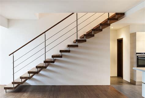 contemporary banister prix et devis pour escalier en bois co 251 t de la pose et