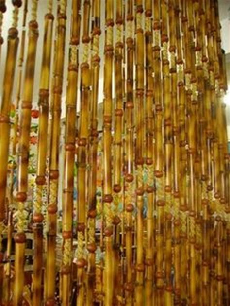 cortina de bambu 1000 images about cortinas on beaded curtains