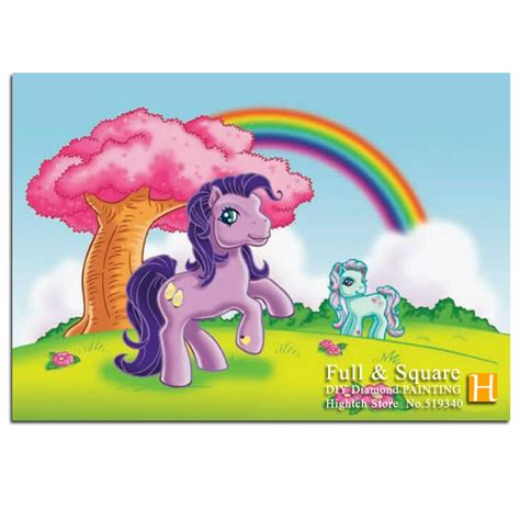 my little pony home decor my little pony diy 5d diamond painting cross stitch full