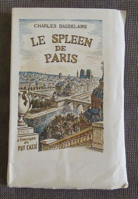 le spleen de paris charles baudelaire le spleen de paris 1946 catawiki