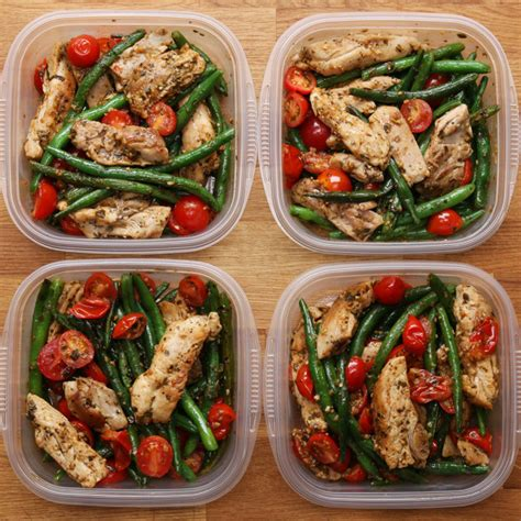 healthy meal prep time saving plans to prep and portion your weekly meals books this easy pesto chicken and veggie recipe is for