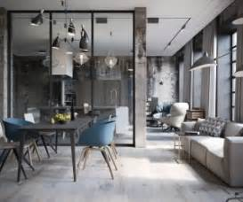 This loft space is cool calming and chic just what you d expect