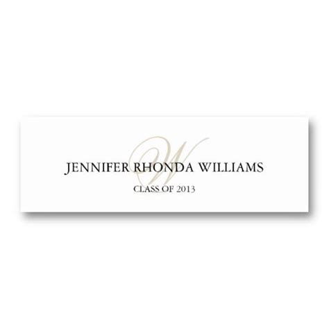 1000 Images About Name Cards For Graduation Announcements On Pinterest Graduation Name Cards Template