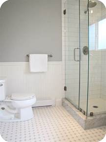 Grey And White Bathroom Tile Ideas My House Of Giggles White And Grey Bathroom Renovation Makeover Marble Hex Tile Etc