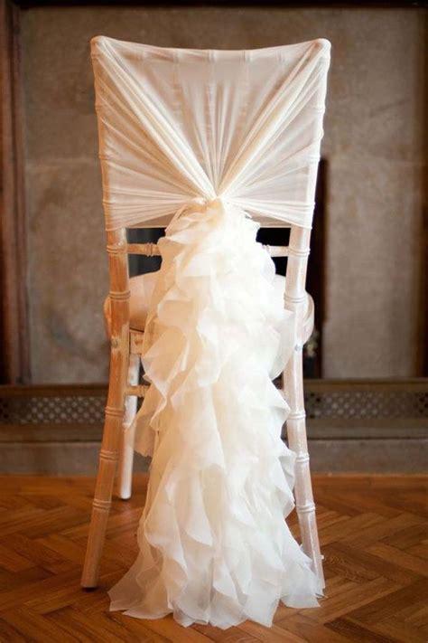 ways  add wow   wedding chairs