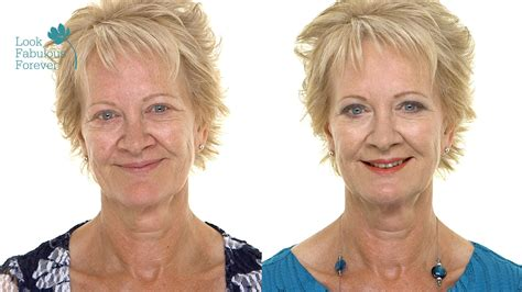 makeover age 60 makeup for older women transformational makeup for over