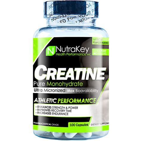 creatine youth nutrakey creatine monohydrate 100 capsules