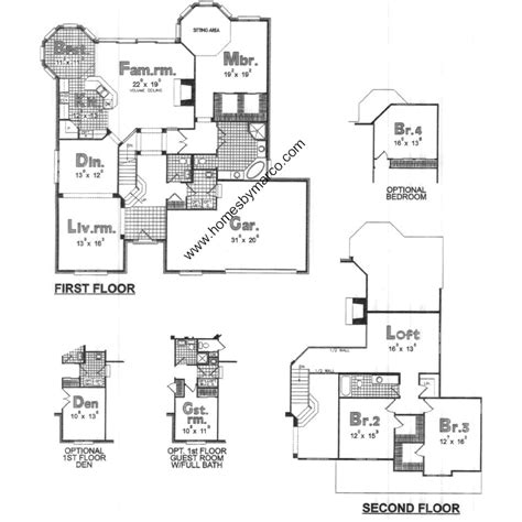 briarwood homes floor plans briarwood model in the beaver creek subdivision in vernon