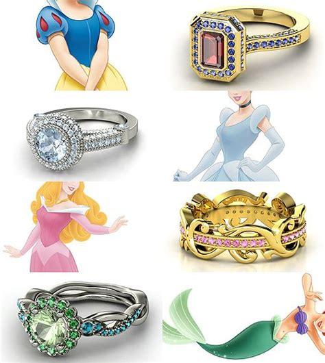 ring design meme rings inspired by the disney princesses