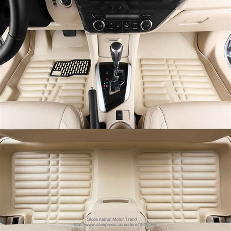 Discounted Motor Trend All Weather Floor Mats - custom fit car floor mats for bmw 3 4 5 6 series gt m3 x1