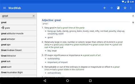 wordweb dictionary apk dictionary wordweb 3 2 apk for pc free android koplayer