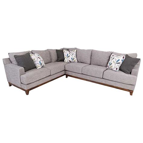 michael nicholas designs sectional new hm chic white and wood furniture hm etc