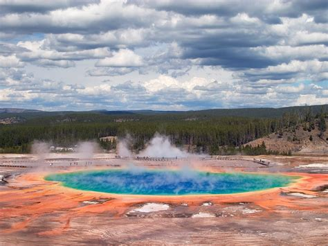 free wallpaper yellowstone national park free hq grand prismatic spring yellowstone national park
