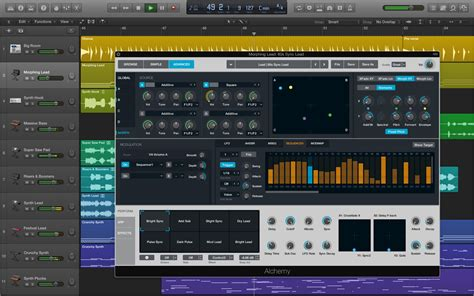 Garageband Arpeggiator Alchemy Synth Is Now A Part Of Logic Pro X Here S What S