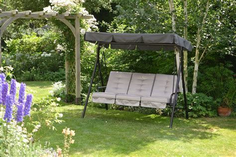 swing seats for the garden quality 3 seater garden swing seat hammock with deep