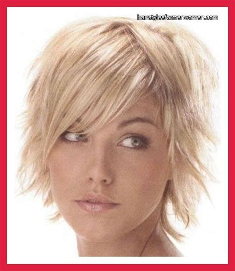 hairstyles for thin hair and double chin short hairstyles for round faces double chin and fine