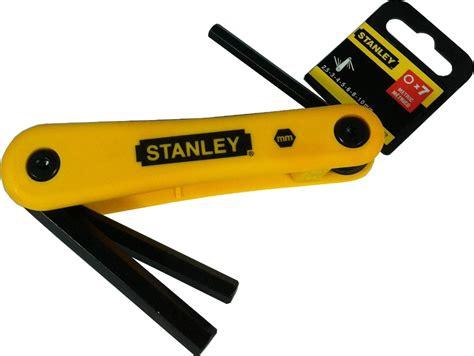 Murah Stanley 69 262 Hex Key Set 7 Pcs Folding stanley 六角匙 7 件套 met 折叠 2 5 10 0mm 69 262 六角工具和配件 家具装修