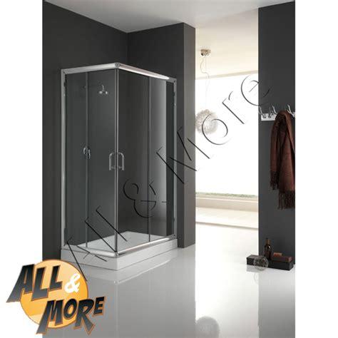 cabina doccia 70x100 all more it cabina box doccia rettangolare trasparente