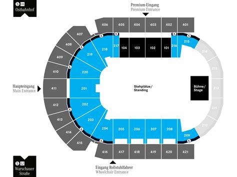 02 Arena Floor Plan by Seating Charts Mercedes Benz Arena Berlin