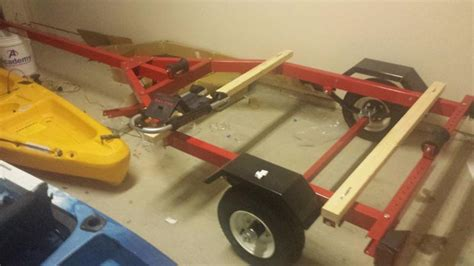 harbor freight 600 lb boat trailer help with harbor freight trailer running lights kayak