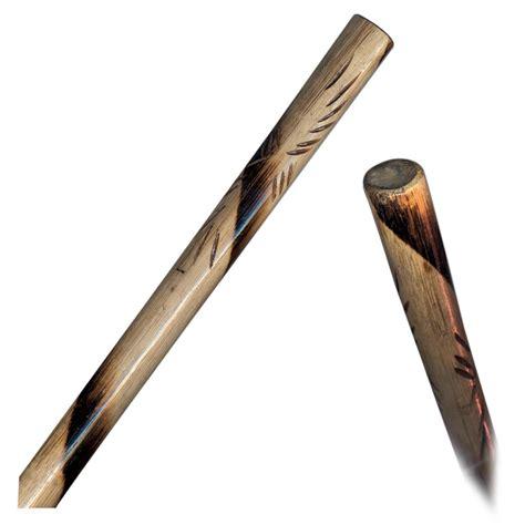 escrima sticks burnt rattan escrima stick 1 quot dia x 26 quot low price