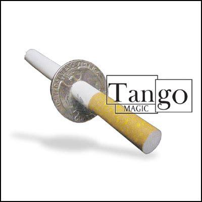 Cigarrete Through Coin cigarette thru coin quarter dollar premium 48 00 vanishing inc magic shop