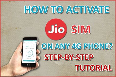 live activation how to activate reliance jio sim on any