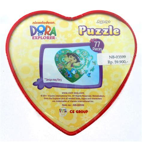 Puzzle Kaleng puzzle tin mainan puzzle kemasan kaleng