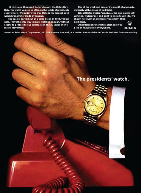 rolex ads in depth the rolex oyster perpetual day date 40 ref