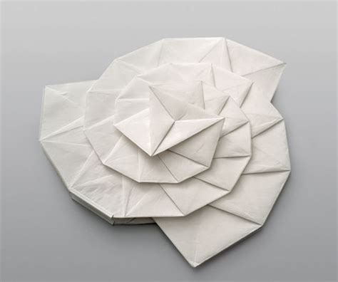 3d Shapes Paper Folding - in ei issey miyake architecture design