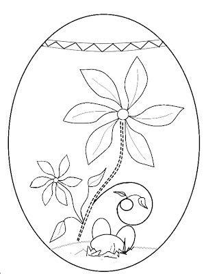 decorare oua paste copii planse de colorat pentru copii
