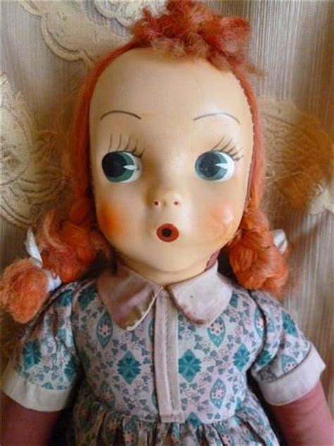rag doll 60 s vintage mask rag doll condition 50 s 60 s era