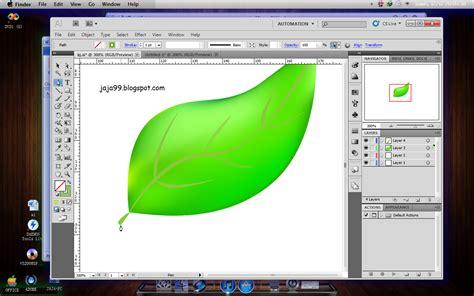 tutorial adobe illustrator pemula tutorial adobe illustrator daun vectore jaja fatmamiharja