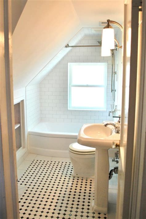 small attic bathroom ideas efficient use of your attic 18 sleek attic bathroom