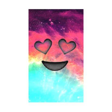 background emoji galaxy heart smile wallpaper heart