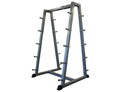 Bar Bell Rack by Barbell Rack Holds 10x Barbells Horizontal