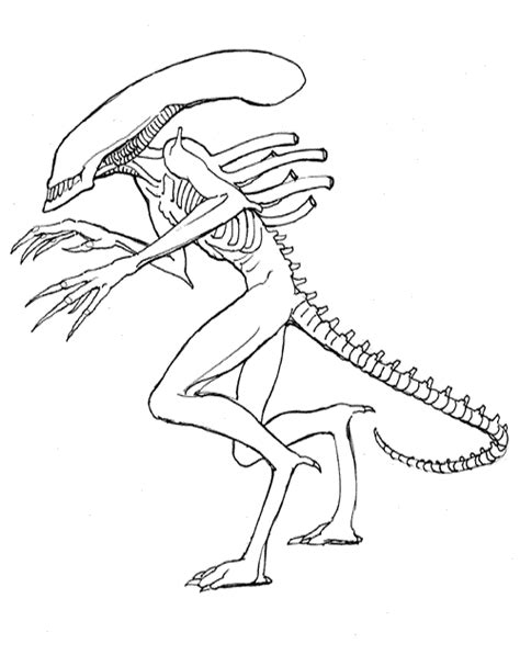printable alien coloring pages coloring me